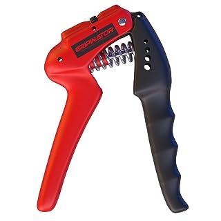 HAND GRIP / PINZAS de entrenamiento de mano y antebrazo de Master of Muscle - perfecto para un agarre de mano fuerte - resistencia ajustable 10-40 kg - Incluye guía de uso digital con ejercicios.