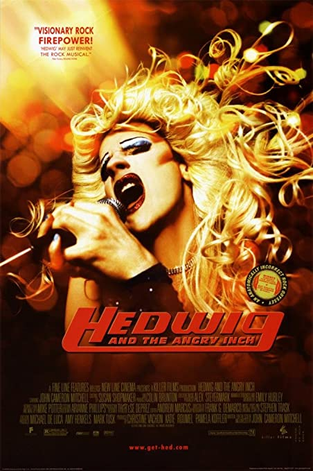 Amazon.com: Hedwig And The Angry Inch Poster 24 x 36in: Posters & Prints