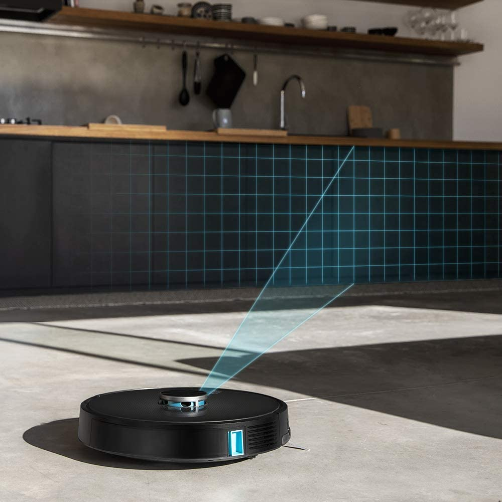 Cecotec Robot Aspirador Conga 5490. Tecnología láser, 10.000 Pa, Cepillo Jalisco, Room Plan,App, Cepillo Especial Mascotas, Compatible 5 GHz, Mando a Distancia: Amazon.es: Hogar