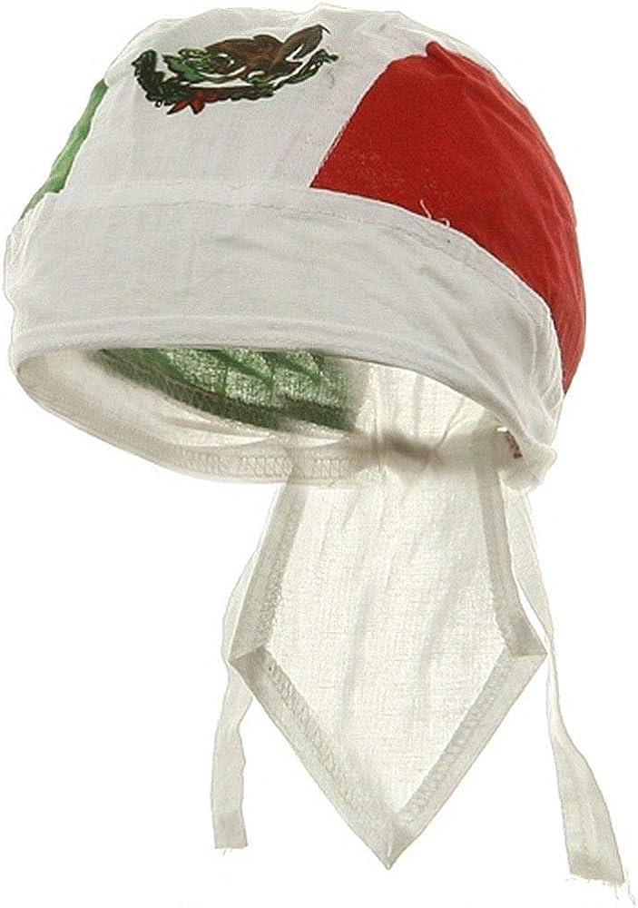 Skull Mexican Flag Multifunctional Headwear Bandana