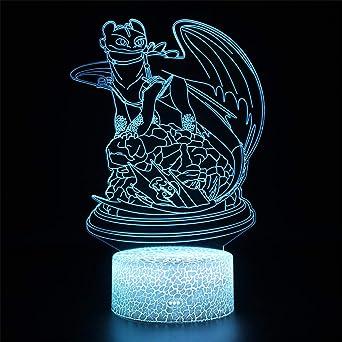 Lámpara de ilusión visual 3D / Touch 3D / Lámpara de mesa ...