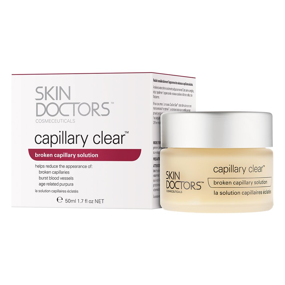 Skin Doctors Capillary Clear, Helps improve the appearance of broken capillaries, Reduces the appearance of burst blood vessels, help to reduce facial redness and promote an even complexion - 50ml 2170 Care Cosmetics and Fragrances beauty