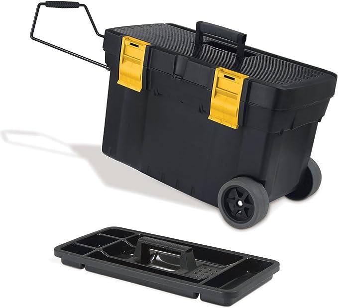 Keter Pro Serie Mastermate 17182290 Tool Box Plastic Black Yellow Baumarkt