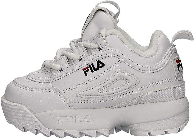 Fila Disruptor II - Zapatillas deportivas infantiles Fila Disruptor II: Amazon.es: Zapatos y complementos