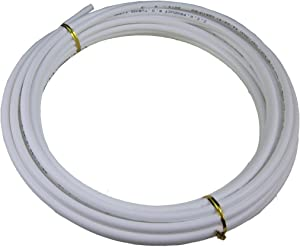 Malida Size 1/4 Inch, 10 Meters 30 feet Length Tubing Hose Pipe for RO Water Filter System white