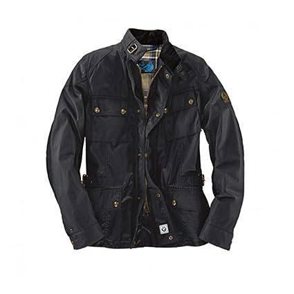 Belstaff - Chaqueta abrigo de caballero para moto, modelo ...