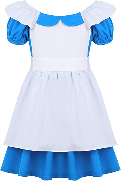 Freebily Disfraz de Princesa Alicia en el País de Las Maravillas niñas