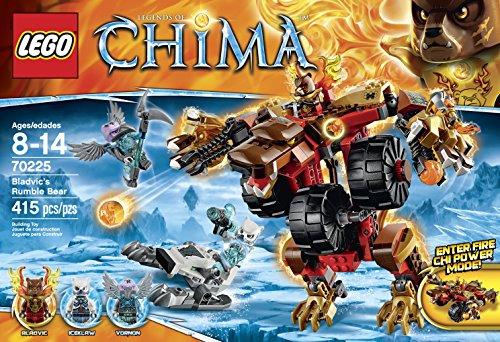 LEGO Legends of Chima 70225 Bladvics Rumble Bear Building Kit