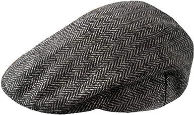 TOSKATOK® Gorras Planas Boinas de Tweed para Hombre: Amazon.es ...