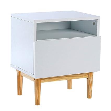 Amazon Com Zouqilai Nightstand Storage Cabinet Sideboard Coffee
