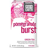 Good Earth Green Tea, Pomegranate Burst, 18 Count Tea Bags (Pack of 6)