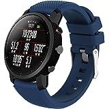 VNEIRW_Electronics - Cinturino di ricambio per orologio sportivo Huami Amazfit Stratos Smart Watch 2, unisex, in morbido gel di silicone dai colori vivaci