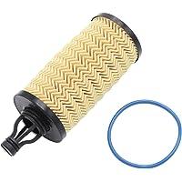 SODIAL Oil Filter with Rubber O-Ring for Ghibli Quattroporte Levante 3.0L 311401 298939