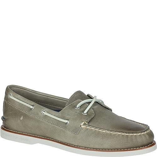 Zapatillas de barco cruzadas autšŠnticas originales de la Copa de oro: Amazon.es: Zapatos y complementos