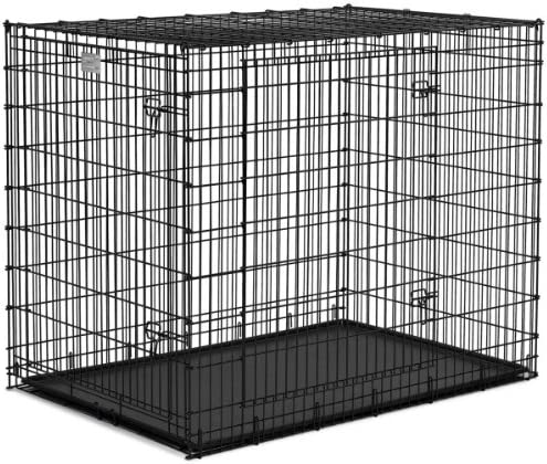 Qpets 30 by 21 by 24-Inch Dog Cage, Large