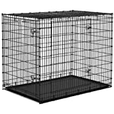 Qpets 42 by 28 by 31-Inch Dog Cage, XX-Large