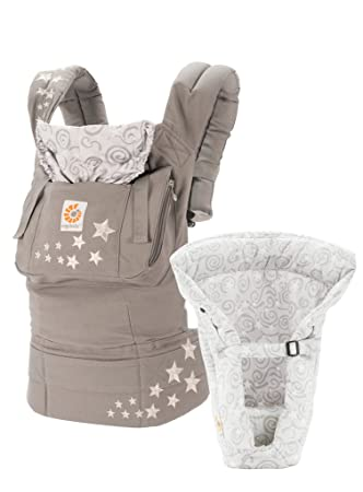 5956d60a4d7 Amazon.com   Ergobaby Original Bundle of Joy Baby Carrier Galaxy Grey   Baby