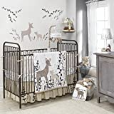 Lambs & Ivy Meadow 4 Piece Crib Perfect Fit Bumper, Cream/Brown/White Reviews