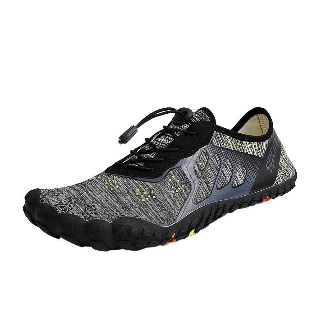 [Qisc_Shoes] メンズ B07Q74S5VF  ブラック US Size : 7.5