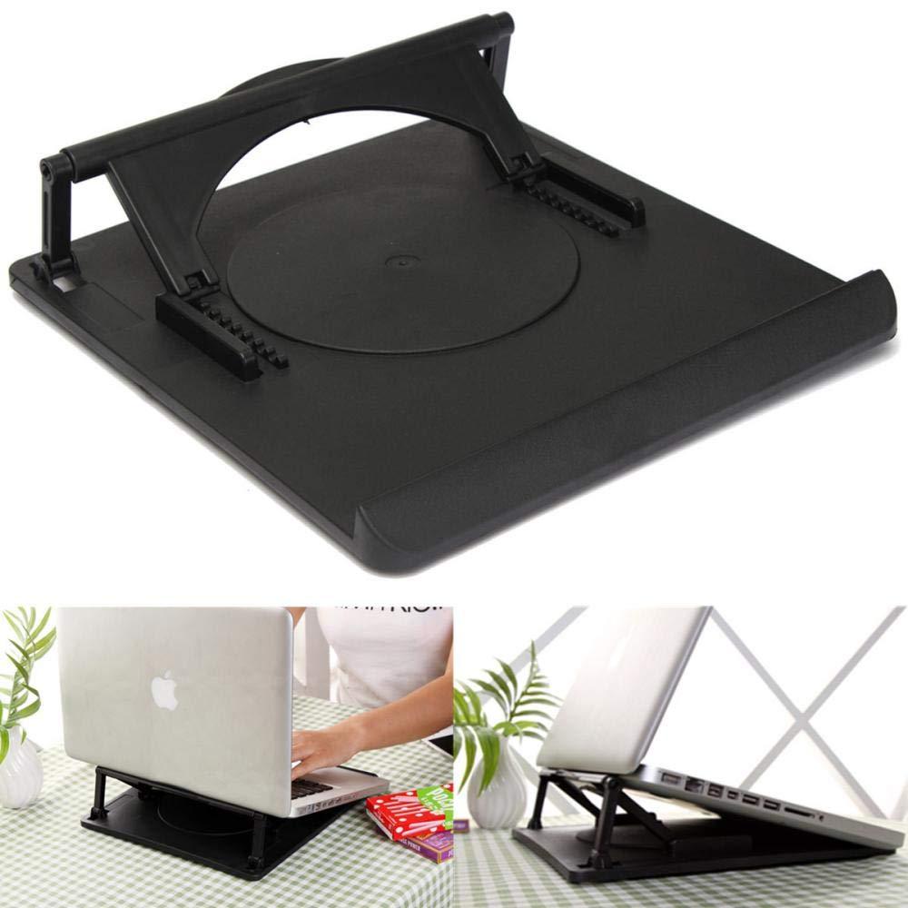 DHmart Adjustable Cooling Cooler Table Fan Stand Holder Notebook Laptop Universal Laptop Cooler Fan Holder Pad Notebook Stand by DHmart (Image #5)