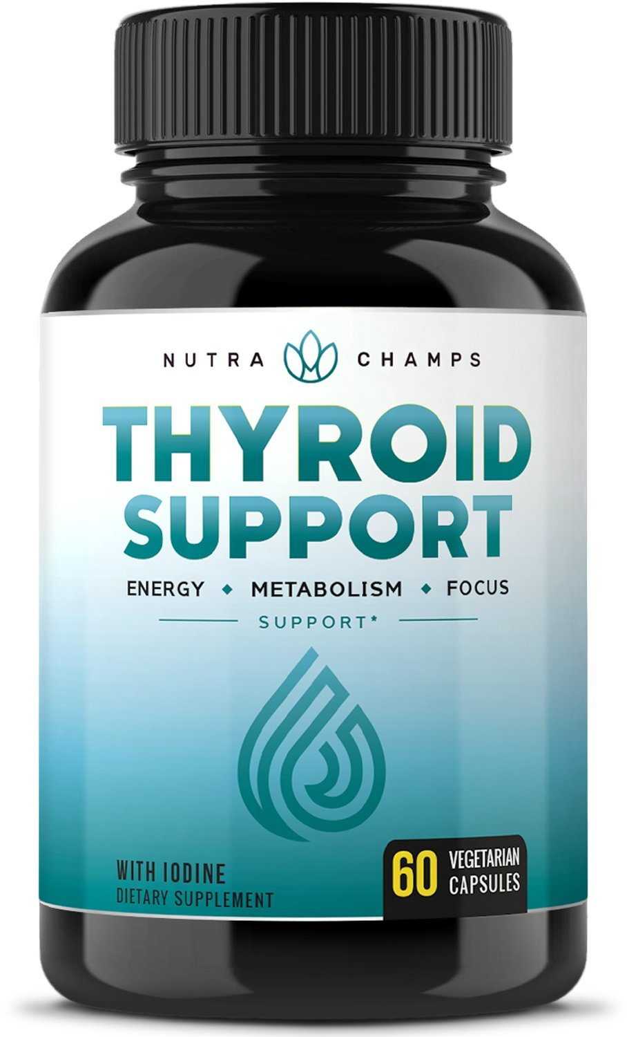 Product thumbnail for Nutra Champs Thyroid Support Selenium Supplement