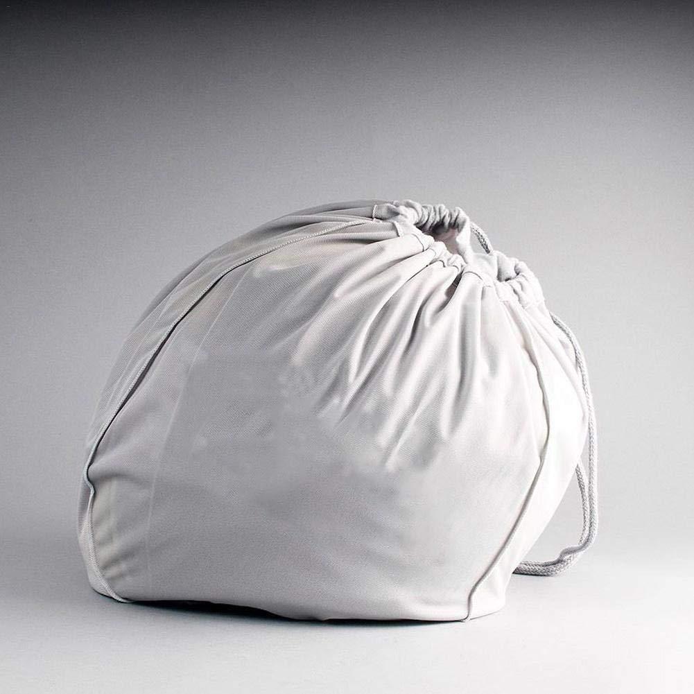 Motto.h Blanco Bolsa de protecci/ón para Casco de Moto Resistente a los desgarros Duradero Bolsas de Peluche de Almacenamiento Corta
