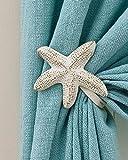 Pair of Starfish Curtain Tie Backs (Starfish 5''x5'')