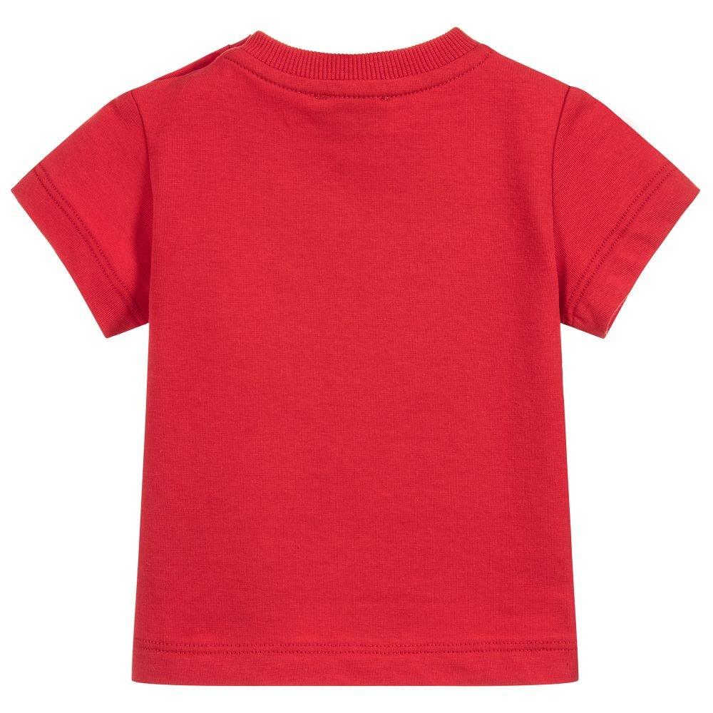 e6a83aa5756d3 Moschino T-Shirt Rossa Con Orsacchiotto  Amazon.co.uk  Clothing