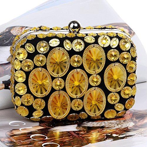 De À À Diamante Sac Femmes Glitter LOUHH Mariage Pochette Dames Party Sac Sac Épaule Prom Pour Main Cadeau Main Nuptiale Clubs Gold Soirée xgtZwFfwq