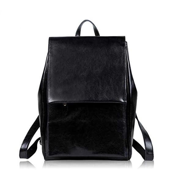 5f9ce23dadf Women s Leather Backpack Multi-function Backpack Simple Fashion College  Wind Bag Travel Bag