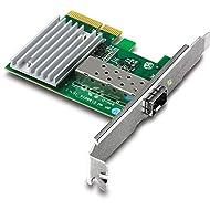 TRENDnet 10 Gigabit PCIe SFP+ Network Adapter, Standard and Low-Profile Brackets Included, TEG-10GECSFP