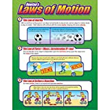"Trend Enterprises Newton's Laws of Motion Learning Chart (1 Piece), 17"" x 22"""