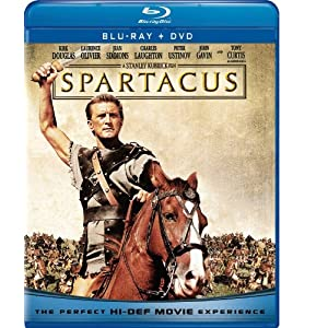 Spartacus (Blu-ray + DVD) (1960)