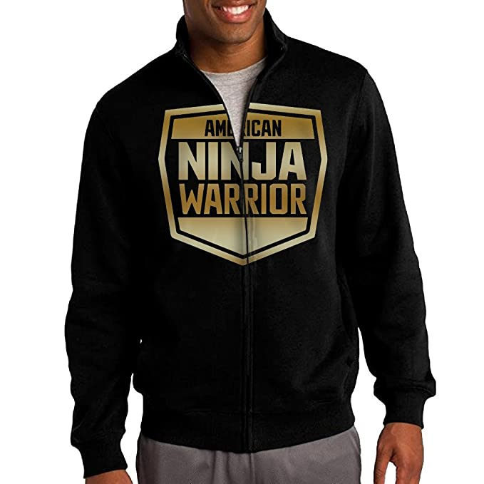 Amazon.com: Hombres American Ninja Warrior (2) Gold Logo ...