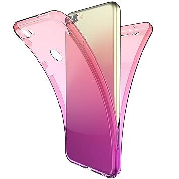 Amazon.com: ikasus - Carcasa para Huawei P Smart (protección ...