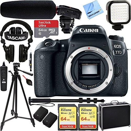 Canon EOS 77D 24.2 MP Digital SL...