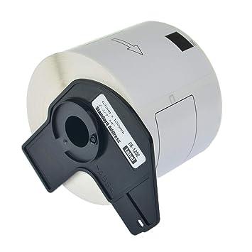 td 1x Etiketten für Brother P-Touch QL-1050N 1060N 500A 550 570 650TD 700 710W
