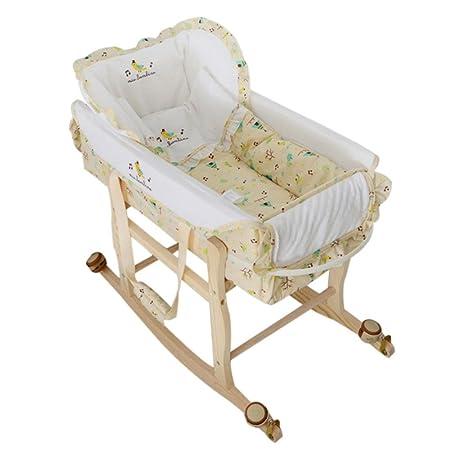 Decdeal 3 In 1 Portable Baby Cradle Bassinet Newborn Baby Travel