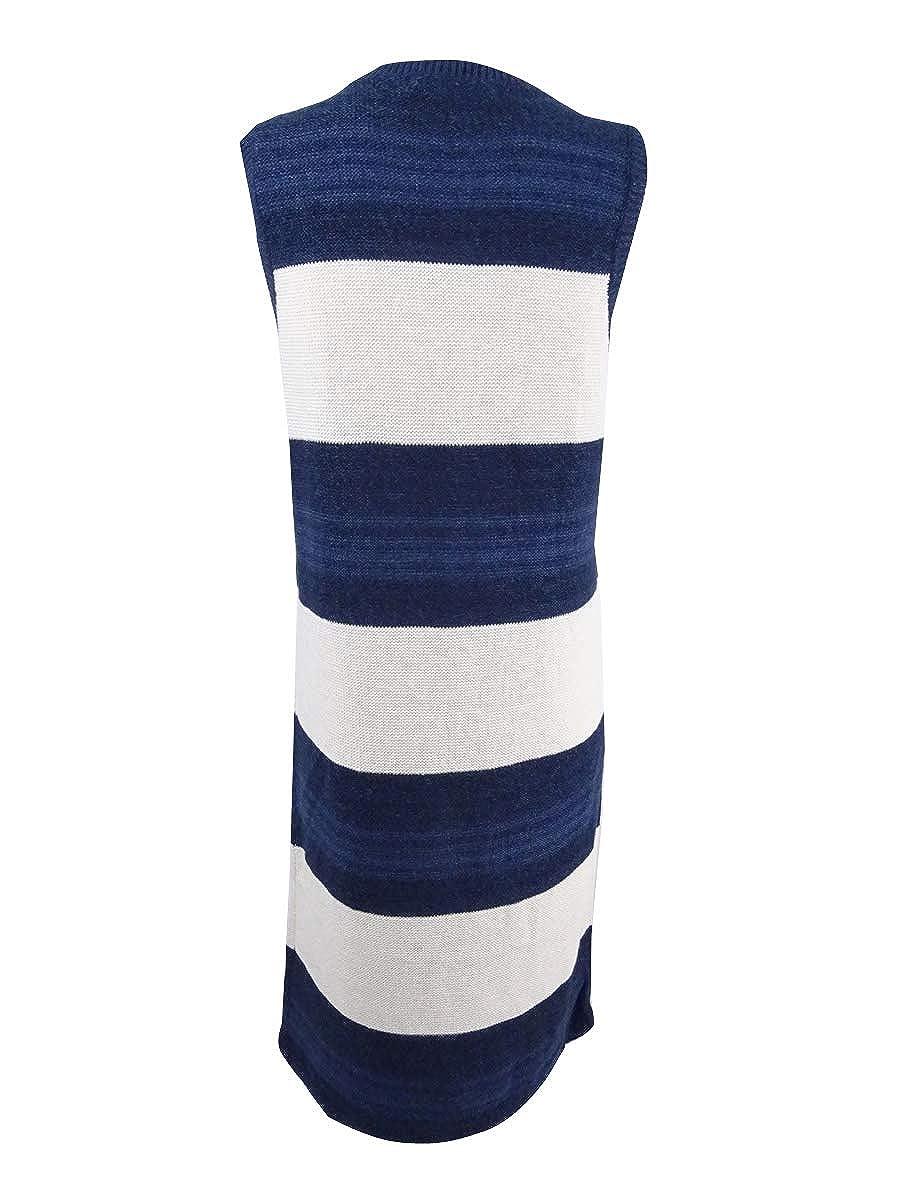 Lauren Ralph Lauren Womens Striped Sweater Dress