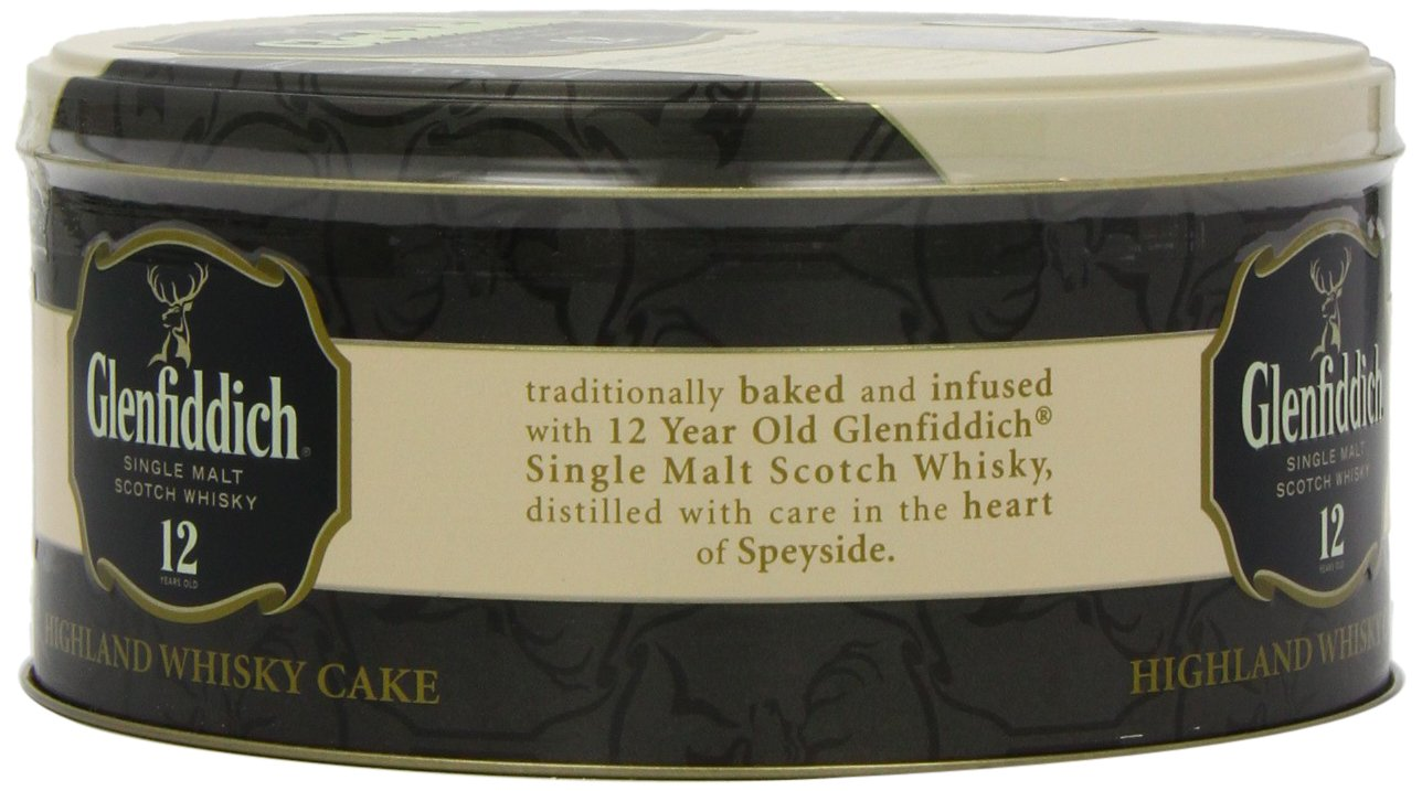 Walkers Shortbread Glenfiddich Highland Whisky Cake, 28.2 Ounce Tin Traditional Scottish Fruit Cake with Glenfiddich Malt Whisky, Cherries, Sultanas by Walkers Shortbread (Image #10)
