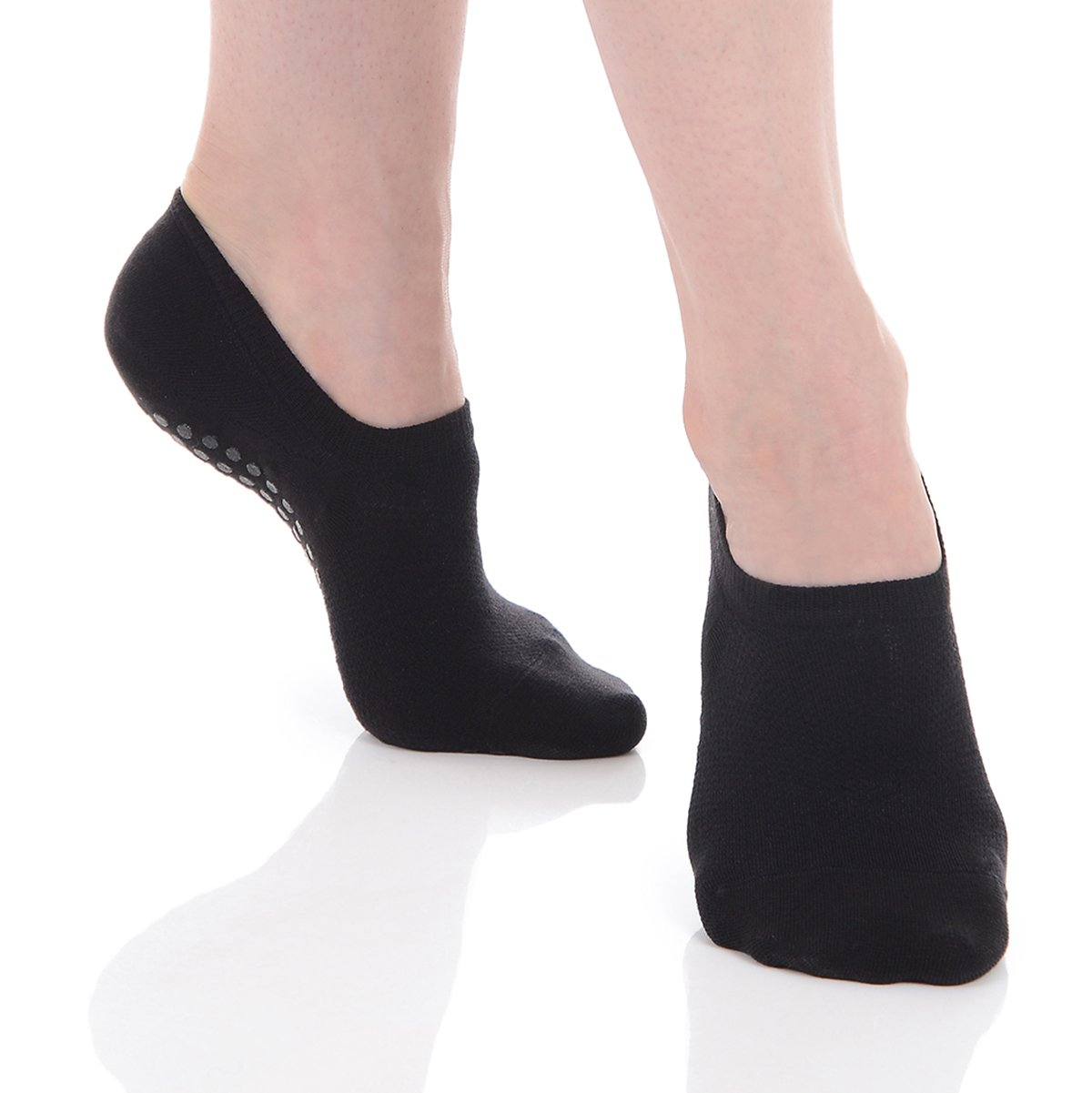 Great Soles Low Cut Grip Socks for Women and Men - Non Slip Yoga Socks for Pilates, Barre, Ballet