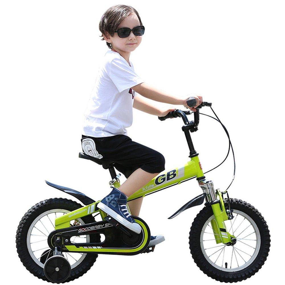XQ 子供用自転車3/4/6歳の男の子用キャビンマウンテンバイク12/14/16インチサイクリングサスペンション 子ども用自転車 ( 色 : オレンジ , サイズ さいず : 14-inch ) B07CJVFPQQ 14-inch|オレンジ オレンジ 14-inch