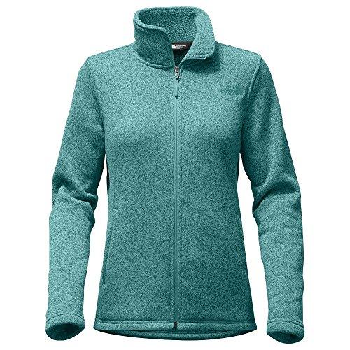 The North Face Women's Crescent Full Zip - Bristol Blue Heather - XL