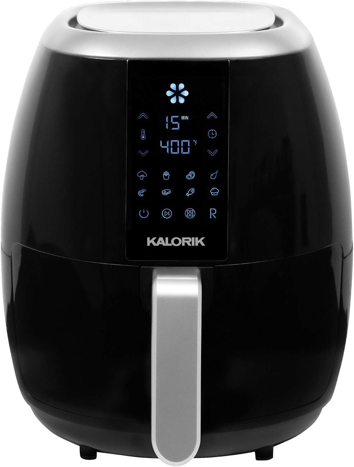 Kalorik 3.0 Quart Digital Airfryer, Black