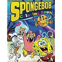 Spongebob Coloring Book: SpongeBob SquarePants Coloring Book for Kids