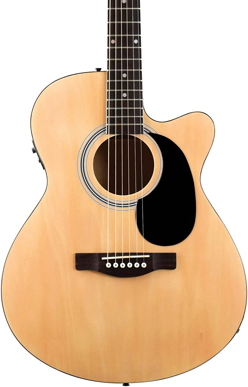 Guitarra electroacústica Fender FA-135CE tipo «Concert».: Amazon ...