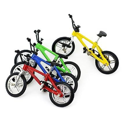 Etbotu Creative Simulation Mini Alloy Finger Bikes Children