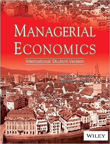 Managerial Economics Isv 6Ed (Pb 2013)