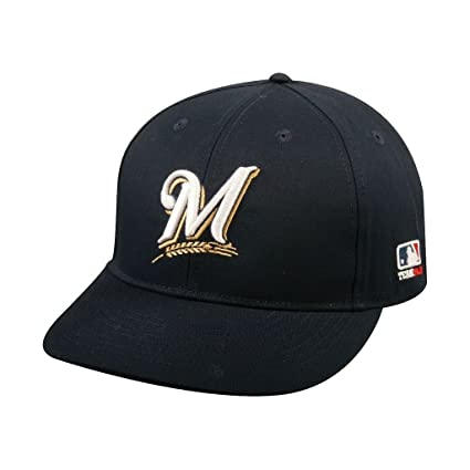 79f8f36aa6bf0f Amazon.com : Milwaukee Brewers Youth MLB Licensed Replica Caps / All ...