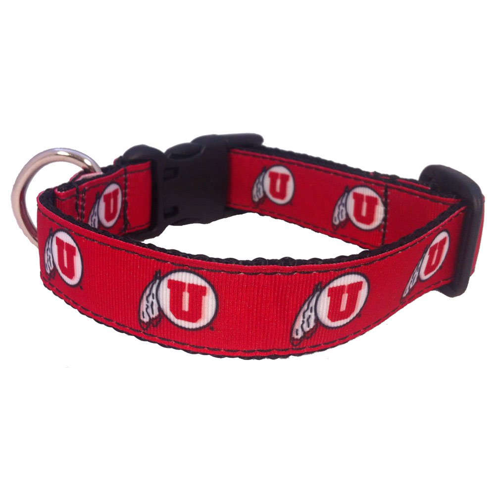 NCAA Utah Runnin Utes Dog Collar Team Color, Small